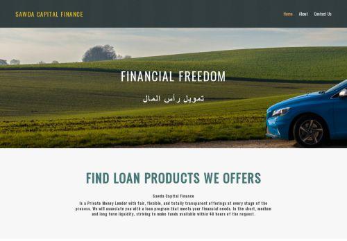 لقطة شاشة لموقع Sawda Capital Finance بتاريخ 03/04/2021 بواسطة دليل مواقع إنسااي