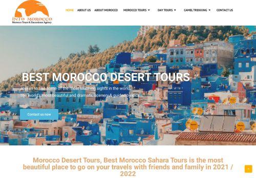 لقطة شاشة لموقع intomorocco بتاريخ 02/05/2021 بواسطة دليل مواقع إنسااي