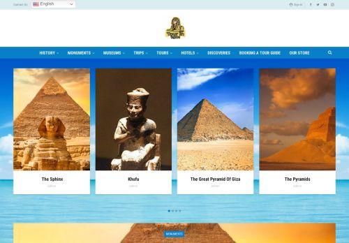 لقطة شاشة لموقع Tour in egypt بتاريخ 22/09/2021 بواسطة دليل مواقع إنسااي