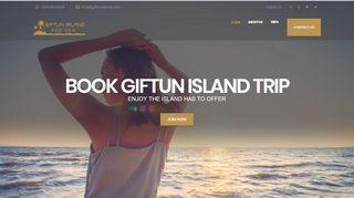 لقطة شاشة لموقع جزيرة الجفتون Giftun Island بتاريخ 31/12/2019 بواسطة دليل مواقع إنسااي