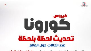 لقطة شاشة لموقع أحصائيات كورونا في مصر - اعداد مصابين كورونا في مصر لحظة بلحظة فيروس كورونا كوفيد-19 بتاريخ 05/04/2020 بواسطة دليل مواقع إنسااي