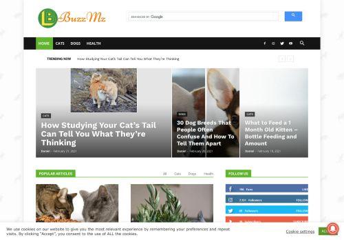 لقطة شاشة لموقع Animals بتاريخ 24/02/2021 بواسطة دليل مواقع إنسااي